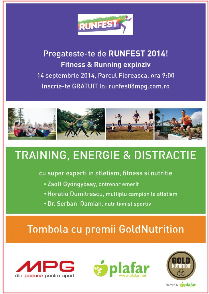 Afis training RUNFEST_14 septembrie