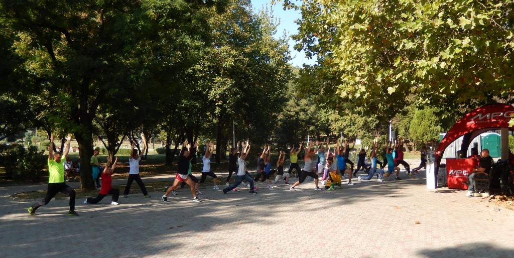 Poza training Floreasca 140914