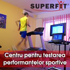 Centru pentru testarea performantelor sportive