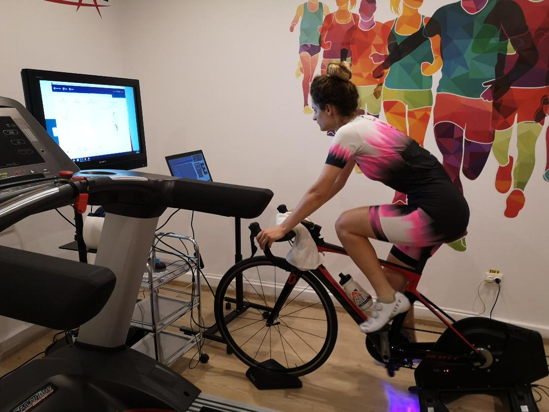Evolutia parametrilor fiziologici la o ciclista de performanta