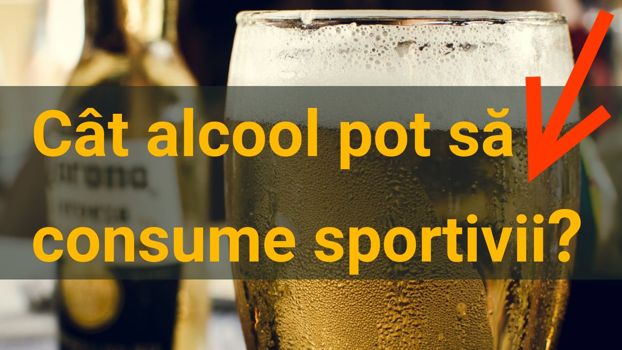 Cat alcool pot sa consume sportivii?