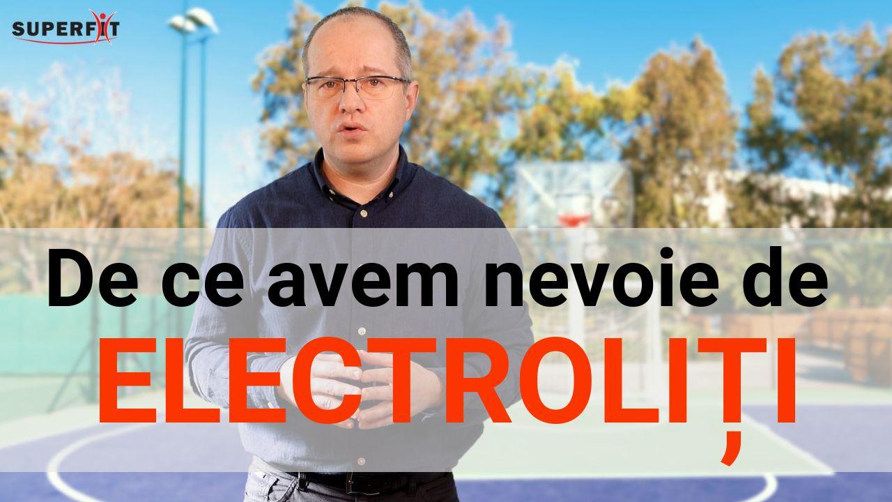 Electrolitii si sportul