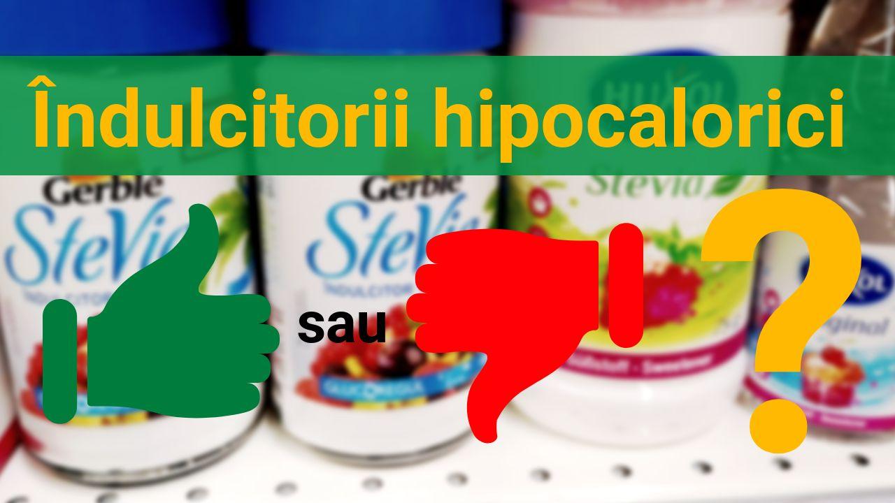 Indulcitorii hipocalorici. Ne putem baza pe ei?