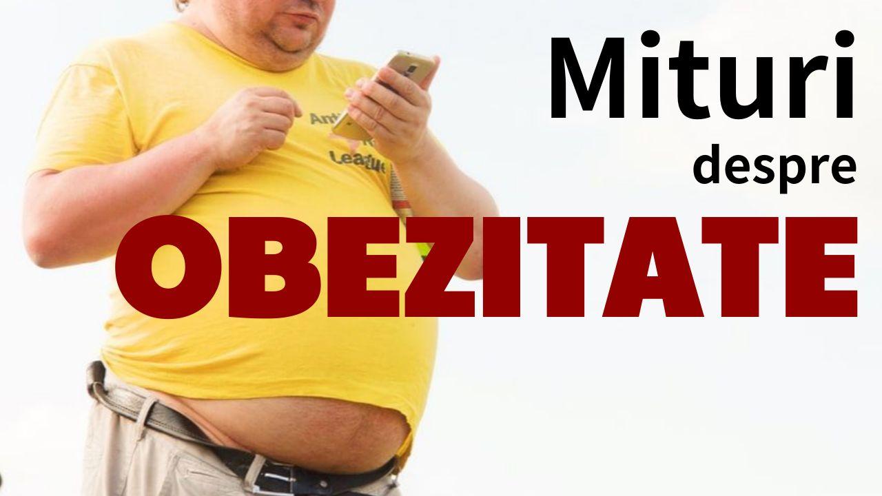Mituri despre obezitate